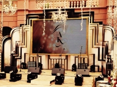 Custom Built Stage - Great Gatsby