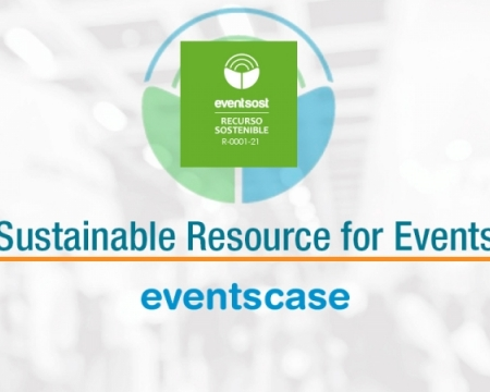 EventsCase announces its successful certification as a sustainable resource for events.